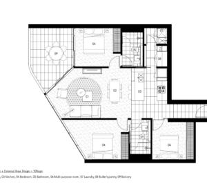 [室內設計]平面配置圖